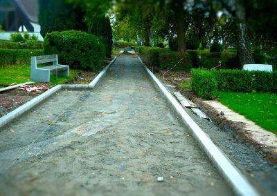 Wegebau Ronnenberg Friedhof